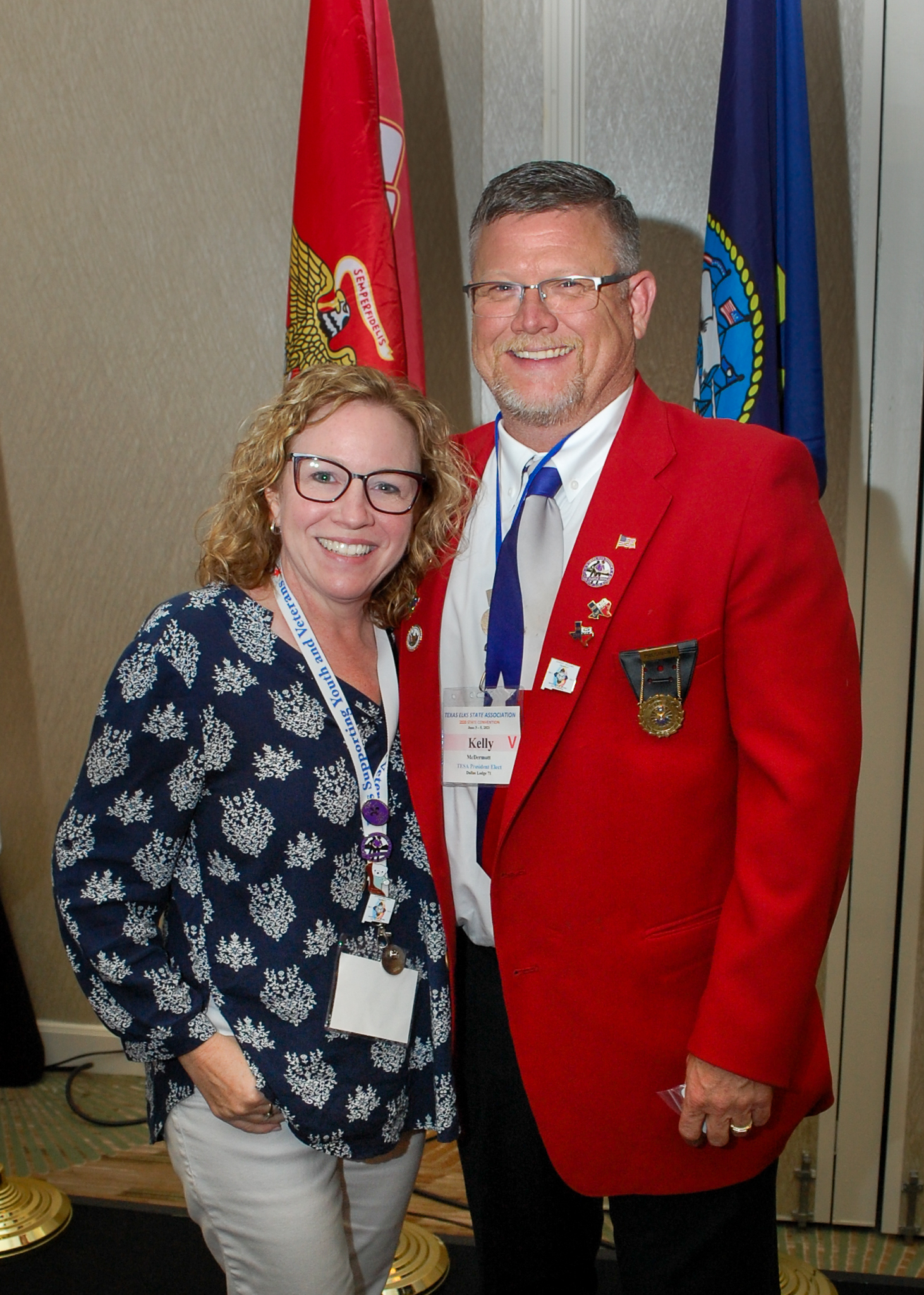 TESA State President Kelly McDermott & First Lady Kim McDermott